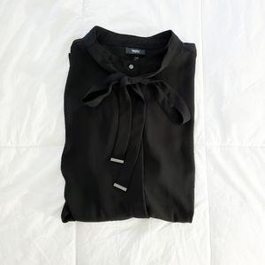 Black Tie Blouse